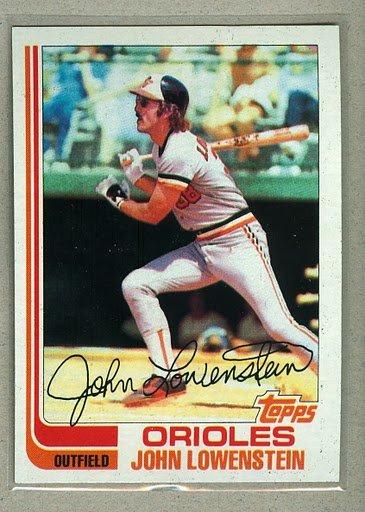 1982 Topps Baseball #747 John Lowenstein Orioles Pack Fresh