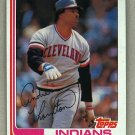 1982 Topps Baseball #746 Andre Thompson Indians Pack Fresh