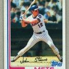 1982 Topps Baseball #743 John Stearns Mets Pack Fresh