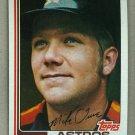 1982 Topps Baseball #734 Mike Ivie Astros Pack Fresh