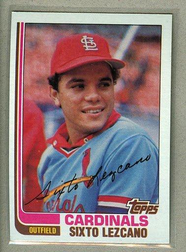 1982 Topps Baseball #727 Sixto Lezcano Cardinals Pack Fresh