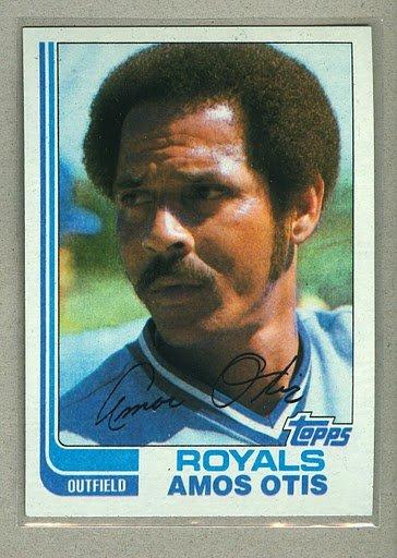 1982 Topps Baseball #725 Amos Otis Royals Pack Fresh