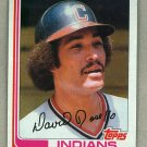 1982 Topps Baseball #724 Dave Rosello Indians Pack Fresh