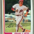 1982 Topps Baseball #713 Del Unser Phillies Pack Fresh