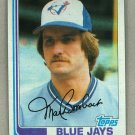 1982 Topps Baseball #707 Mark Bomback Blue Jays Pack Fresh