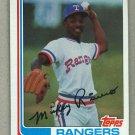1982 Topps Baseball #704 Micker Rivers Rangers Pack Fresh