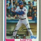 1982 Topps Baseball #690 Dave Kingman Mets Pack Fresh