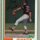1982 Topps Baseball #687 Greg Minton Giants Pack Fresh
