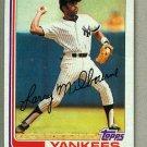 1982 Topps Baseball #669 Larry Milbourne Yankees Pack Fresh