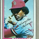 1982 Topps Baseball #658 Tito Landrum Cardinals Pack Fresh