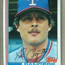 1982 Topps Baseball #657 Tom Poquette Rangers Pack Fresh