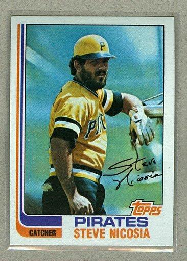 1982 Topps Baseball #652 Steve Nicosia Pirates Pack Fresh