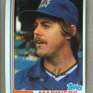 1982 Topps Baseball #649 Ken Clay Mariners Pack Fresh
