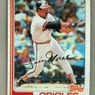 1982 Topps Baseball #648 Jose Morales Orioles Pack Fresh