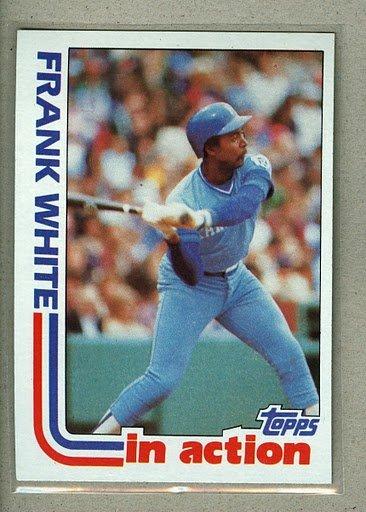 1982 Topps Baseball #646 Frank White Royals Pack Fresh