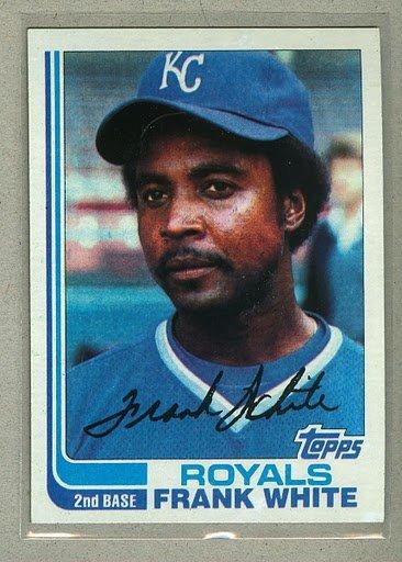 1982 Topps Baseball #645 Frank White Royals Pack Fresh