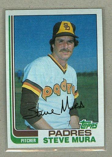 1982 Topps Baseball #641 Steve Mura Padres Pack Fresh
