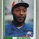 1982 Topps Baseball #638 John Milner Expos Pack Fresh