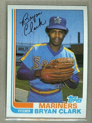 1982 Topps Baseball #632 Bryan Clark Mariners Pack Fresh
