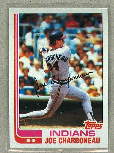 1982 Topps Baseball #630 Joe Charboneau Indians Pack Fresh