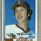 1982 Topps Baseball #628 Bill Travers Angels Pack Fresh
