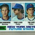 1982 Topps Baseball #623 Gardenhire/Leach/Leary RC Mets Pack Fresh