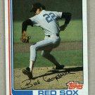 1982 Topps Baseball #619 Bill Campbell Red Sox Pack Fresh