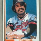 1982 Topps Baseball #612 Gary Ward Twins Pack Fresh