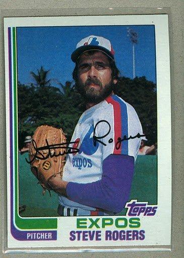 1982 Topps Baseball #605 Steve Rogers Expos Pack Fresh