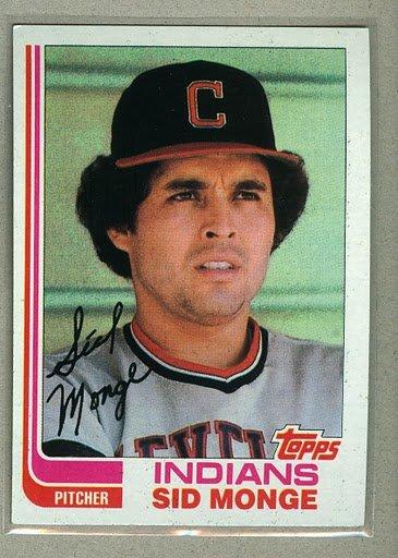 1982 Topps Baseball #601 Sid Monge Indians Pack Fresh