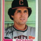 1982 Topps Baseball #601 Sid Monge Indians Pack Fresh
