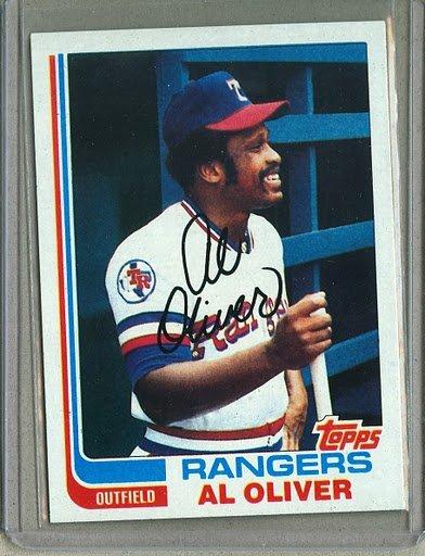 1982 Topps Baseball #590 Al Oliver Rangers Pack Fresh
