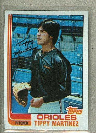 1982 Topps Baseball #583 Tippy Martinez Orioles Pack Fresh