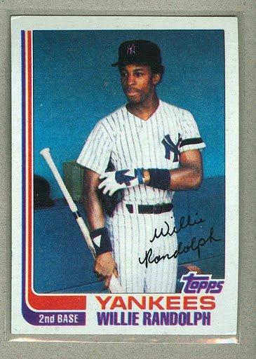 1982 Topps Baseball #569 Willie Randolph Yankees Pack Fresh