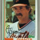 1982 Topps Baseball #568 Joe Pettini Giants Pack Fresh