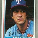 1982 Topps Baseball #567 Bob Babcock Rangers Pack Fresh