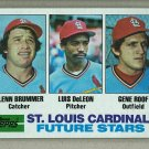 1982 Topps Baseball #561 Brummer/DeLeon/Roof RC Cardinals Pack Fresh
