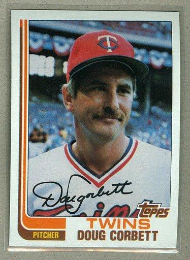 1982 Topps Baseball #560 Doug Corbett Twins Pack Fresh