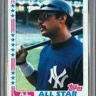 1982 Topps Baseball #551 Reggie Jackson Pack Fresh