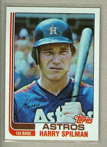 1982 Topps Baseball #509 Harry Spilman Astros Pack Fresh