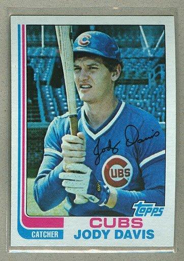 1982 Topps Baseball #508 Jody Davis Cubs Pack Fresh