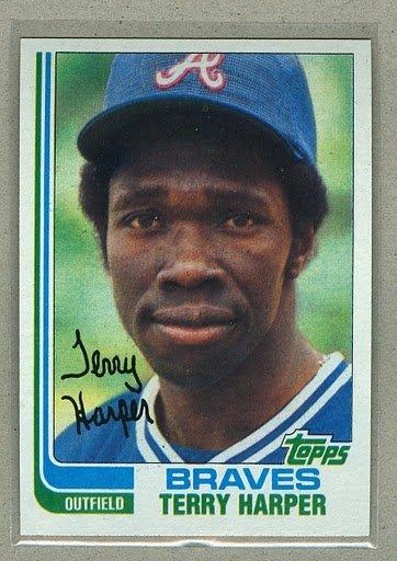 1982 Topps Baseball #507 Terry Harper Braves Pack Fresh
