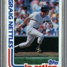 1982 Topps Baseball #506 Graig Nettles Yankees Pack Fresh