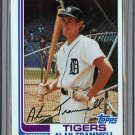 1982 Topps Baseball #475 Alan Trammell Tigers Pack Fresh