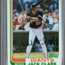 1982 Topps Baseball #460 Jack Clark Giants Pack Fresh