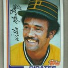 1982 Topps Baseball #458 Willie Montanez Pirates Pack Fresh