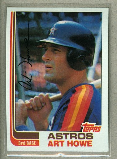 1982 Topps Baseball #453 Art Howe Astros Pack Fresh