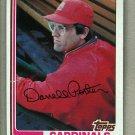 1982 Topps Baseball #447 Darrell Porter Cardinals Pack Fresh