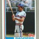 1982 Topps Baseball #443 Mark Wagner Rangers Pack Fresh