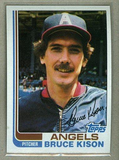 1982 Topps Baseball #442 Bruce Kison Angels Pack Fresh